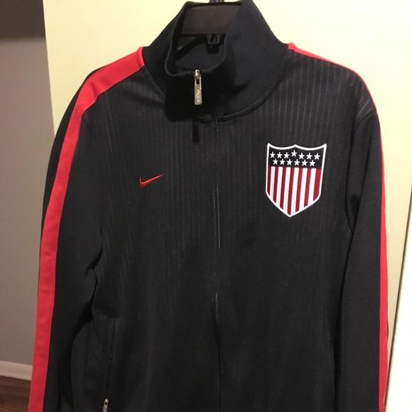 939bc7244 Nike Jackets & Coats | Usa N98 Track Jacket | Poshmark